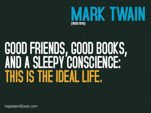 Quotes on Contentment – Mark Twain