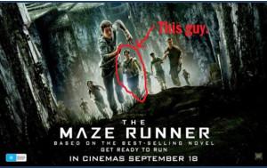 Best Maze Runner on the Poster for Maze Runner