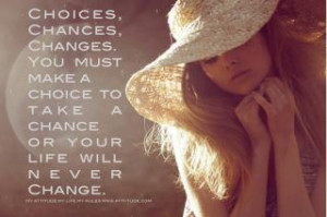 ... lives through the choices we make the choices we make will determine