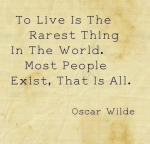 Carpe diem quotes, best, deep, sayings, oscar wilde