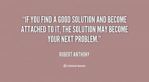 Finding Solutions Quotes