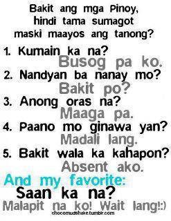 tagalog jokes hindi ba puede jokes simsimi funny answer jokes pinoy ...