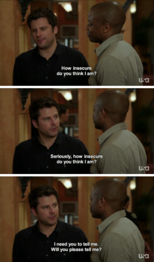 psych shawn spencer insecure gus psych