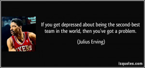 If you get depressed about being the second-best team in the world ...
