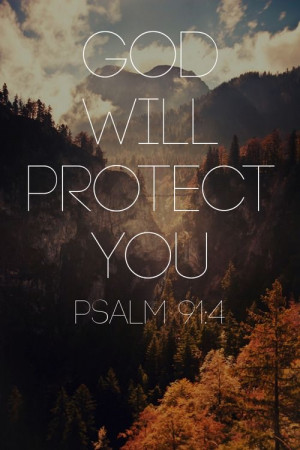 God will protect you