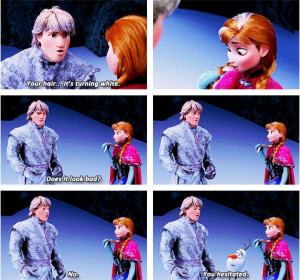 Kristoff, Anna and Olaf, Frozen, 2013