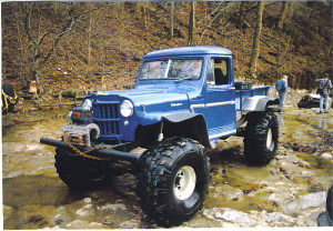 4x4 Willys Jeep Truck