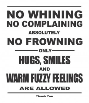 No-Whining-No-Complaining-Absolutey-Vinyl-Wall-Art-Decal-Sticker-Home ...