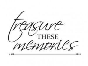 Kaisercraft - Clear Acrylic Stamps - Mini - Treasured Memories