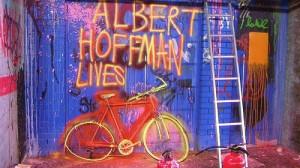 albert hoffman, art, lsd, mural, street art, urban, urban art