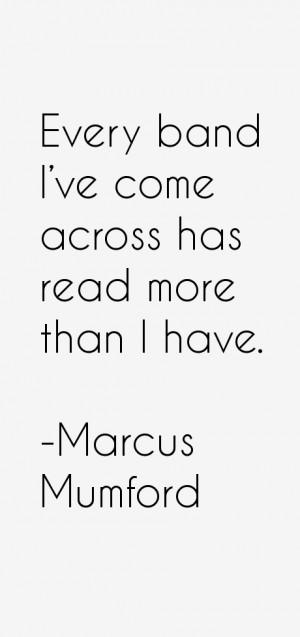 Marcus Mumford Quotes & Sayings