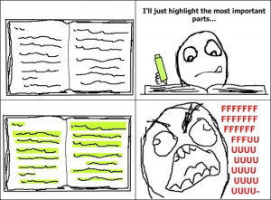 Funny photos funny studying highlighting book