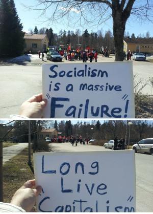 Pro Capitalism Quotes American capitalist rains on