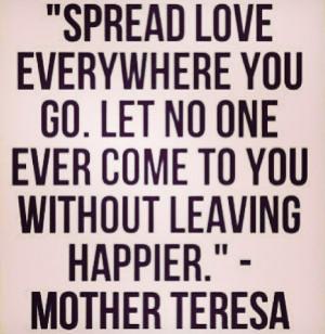 Spread love xx