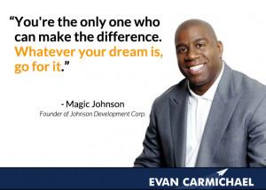 Magic Johnson Famous Quotes