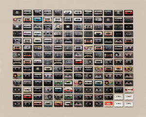 Image of Cassette Tape Collection