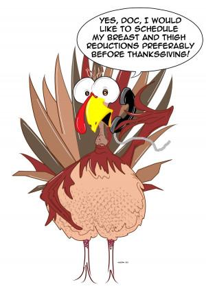 Funny Thanksgiving Turkey by Neeckochichi