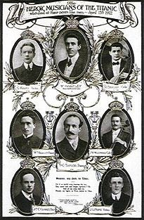 Members of the Titanic orchestra