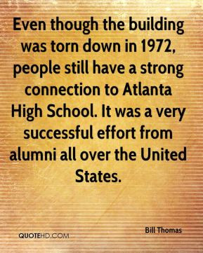 Bill Thomas - Even though the building was torn down in 1972, people ...