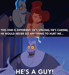 get good relationship advice from Hades. But you CAN get Hercules ...