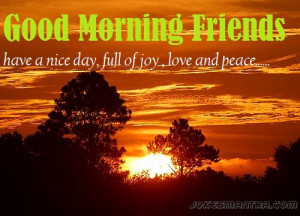 images pics of good morning for friends facebook