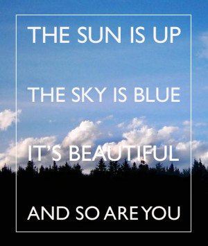 beautiful, hey jude, lyrics, quote, sky, sun, text, the beatles