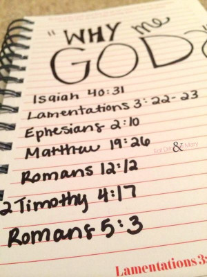Why me God? Bible verses that help with getting through life's trials ...