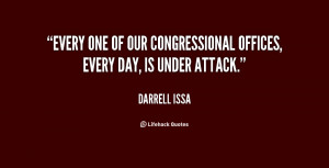 Every one of our congressional offices, every day, is under attack ...