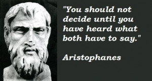 Aristophanes quotes 5