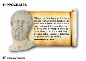 Old Greeks Speak: Hippocrates