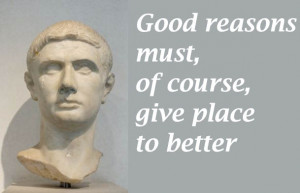 """... must, of course, give place to better."""" (Julius Caesar act 4, sc. 3"""