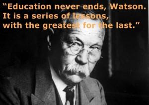 Happy Birthday Sir Arthur Conan Doyle
