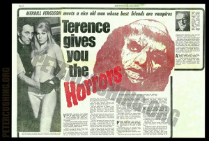 TERENCE FISHER FRANKENSTEIN AND THE MONSTER FROM HELL' VINTAGE ...