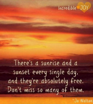 Sunset Quote Sunrise And...