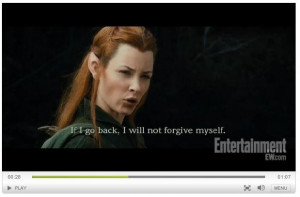 The Hobbit Legolas And Tauriel Love Hobbit the desolation of smaug