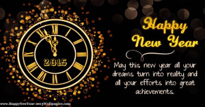 Happy New Year Quotes 2015