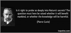 More Pierre Curie Quotes