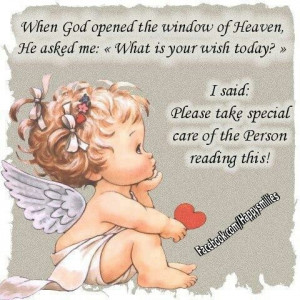 ... God Opened The Window Of Heaven, He Asked Me, What Is Your Wish Today
