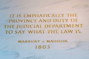 marbury v madison a supreme court case in 1803 was a landmark case for ...