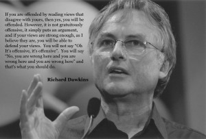Richard Dawkins on people being offended by