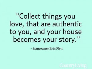 Your Home....Your Story