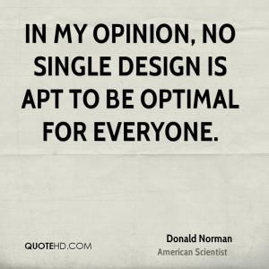 Donald Norman Design Quotes