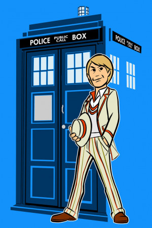 Fifth Doctor Celery Quote The fifth doctor by alanschell