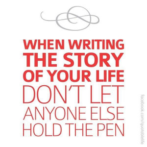 Write your own story...