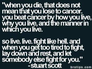 SC_Columbus: RIP Stuart Scott One of the greatest Stuart Scott quotes ...