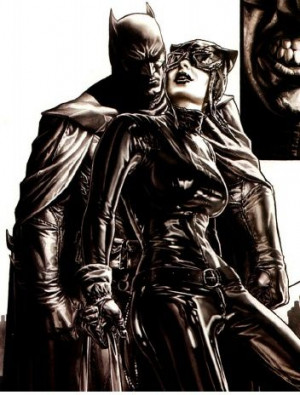 Batman and Catwoman, by Lee Bermejo.
