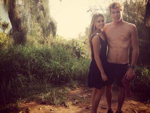 Alana Blanchard (#14) is dating fellow surfer Jack Freestone.