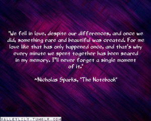 quoteson nicholas sparks quotes via quoteson
