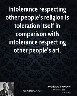 Wallace Stevens Religion Quotes