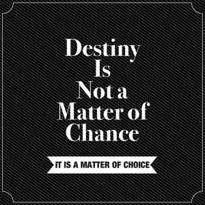 William Jennings Bryan Quote on Destiny